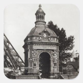 The Pavilion Perrusson Square Sticker