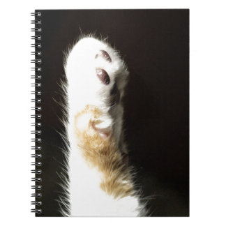 The Paw Spiral Notebook