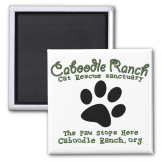 'The Paw Stops Here' Magnet