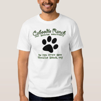 'The Paw Stops Here' T-shirts