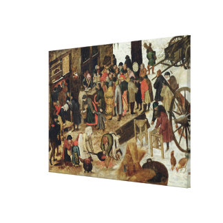 The Payment of the Tithe Canvas Print