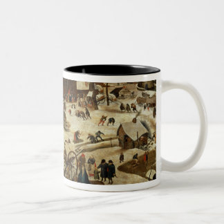 The Payment of the Tithe Two-Tone Coffee Mug
