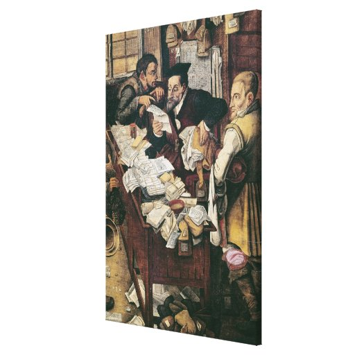 The Payment of the Yearly Dues Canvas Print