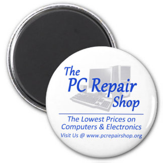 The PC Repair Shop 2 Inch Round Magnet