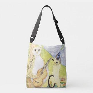 The Pea Pod moon Crossbody Bag