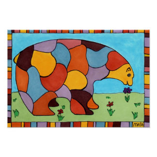 The Peace Bear Poster