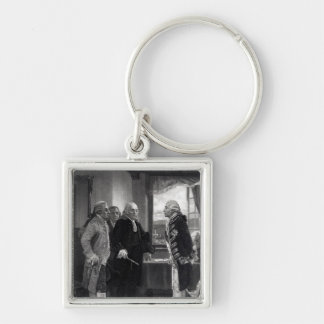 The Peace Conference on Staten Island Keychain