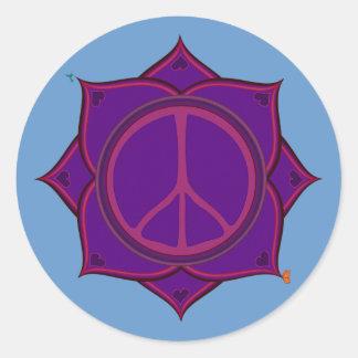 The Peace Flower Sticker