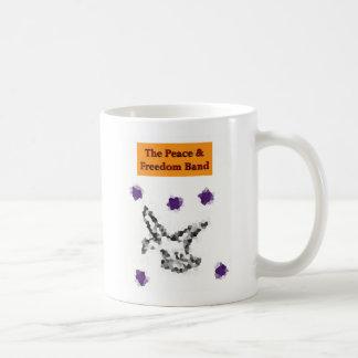 The Peace & Freedom Band Mug