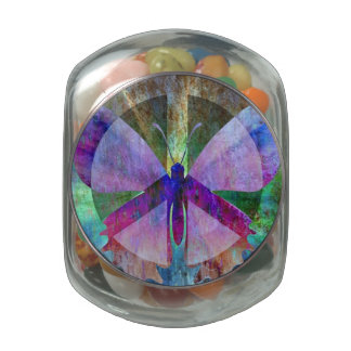 The Peace-Full Butterfly Jelly Belly Candy Jar