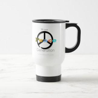 The Peace Generation 15 Oz Stainless Steel Travel Mug