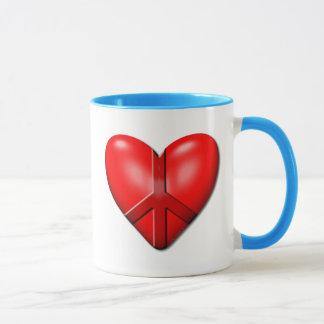 The Peace Heart Mug