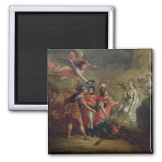 The Peace of Amiens, 25th March 1802 2 Inch Square Magnet