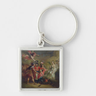 The Peace of Amiens, 25th March 1802 Keychain