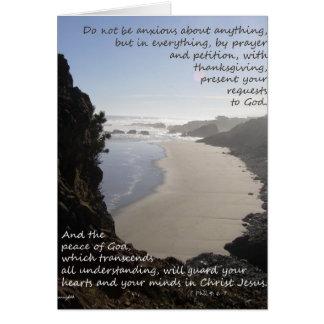 The Peace of God Card