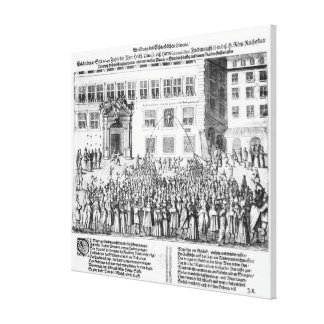 The Peace of Nuremberg, 25th September 1649 Canvas Print