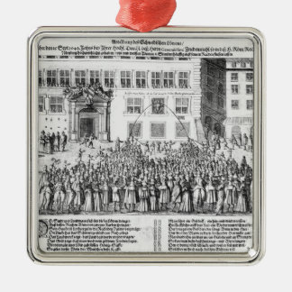 The Peace of Nuremberg, 25th September 1649 Metal Ornament