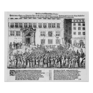 The Peace of Nuremberg, 25th September 1649 Poster