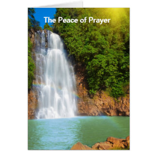 The Peace of Prayer Card