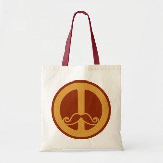 The Peace Stache bag - choose style
