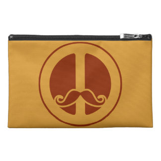 The Peace Stache custom accessory bags