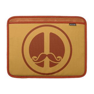 The Peace Stache custom MacBook sleeve