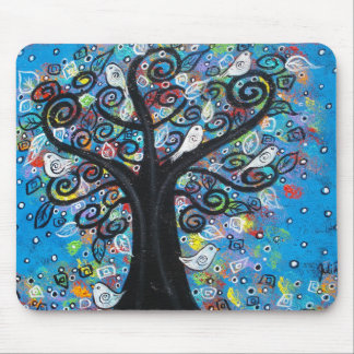 The Peace Tree Mouse Pad