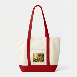 The Peaceable Kingdom Tote Bag