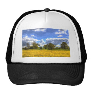 The Peaceful Farm Art Trucker Hat