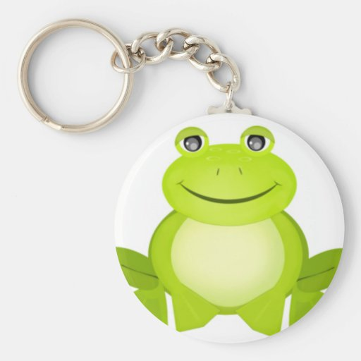 The Peaceful Frog Keychain
