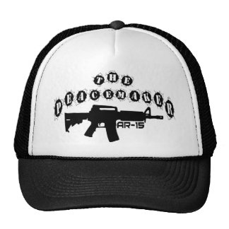 The Peacemaker AR15 Rifle by U.S. Custom Ink Trucker Hat