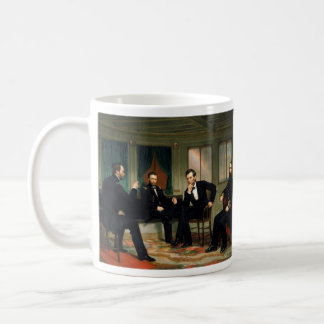 The Peacemakers by George Peter Alexander Healy Coffee Mug