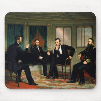 The Peacemakers by George Peter Alexander Healy Mouse Pad