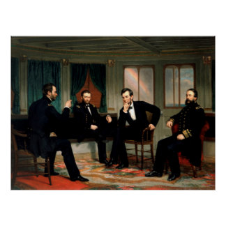 The Peacemakers by George Peter Alexander Healy Poster