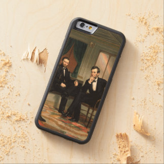 The Peacemakers Carved® Maple iPhone 6 Bumper Case