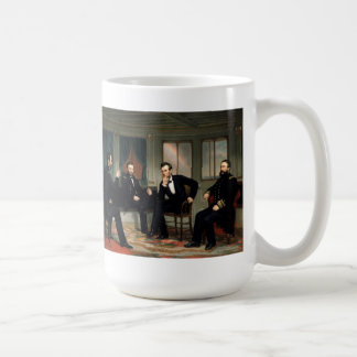 The Peacemakers Painting of 1868 Coffee Mug