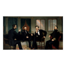 The Peacemakers Painting of 1868 Print