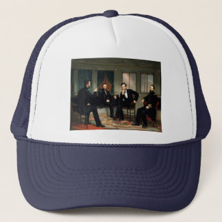 The Peacemakers Painting of 1868 Trucker Hat