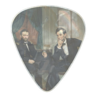 The Peacemakers Pearl Celluloid Guitar Pick