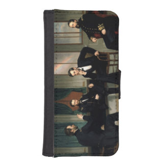 The Peacemakers Wallet Phone Case For iPhone SE/5/5s