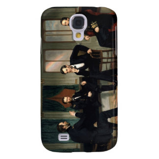 The Peacemakers with Abraham Lincoln Galaxy S4 Cover