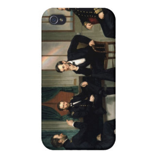 The Peacemakers with Abraham Lincoln iPhone 4/4S Cover