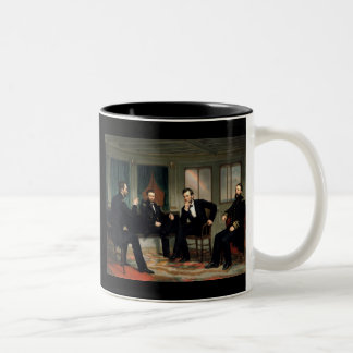 The Peacemakers with Abraham Lincoln Coffee Mugs