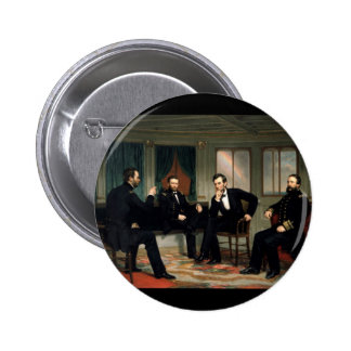 The Peacemakers with Abraham Lincoln Pinback Button