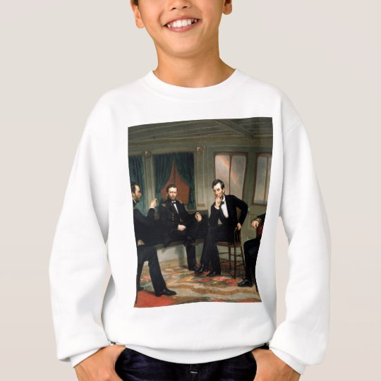The Peacemakers with Abraham Lincoln Sweatshirt