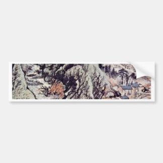 The Peach Blossom Source By Tao Chi Bumper Stickers