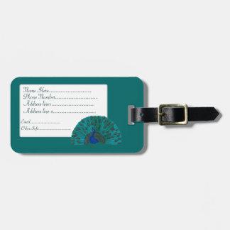 The Peacock Bag Tag