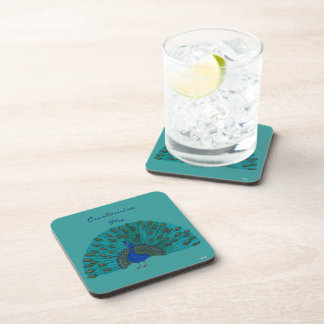 The Peacock Drink Coasters