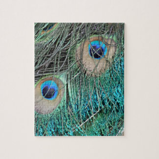 The Peacock Eye Jigsaw Puzzle
