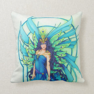 The Peacock Fairy Pillow